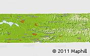 Physical Panoramic Map of Sariwŏn