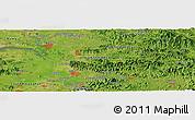 Satellite Panoramic Map of Sariwŏn