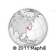 Outline Map of Chahaul, rectangular outline