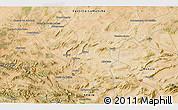 Satellite 3D Map of Jumilla