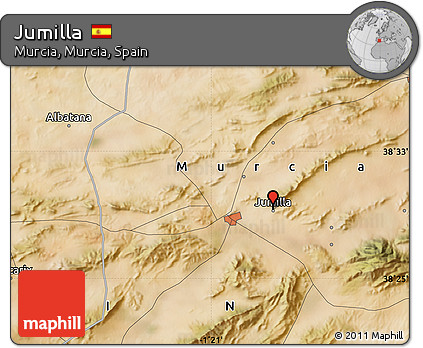Free Satellite Map Of Jumilla