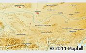 Physical 3D Map of Valdepeñas