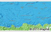 Political 3D Map of Valdepeñas