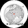 Outline Map of Astmal, rectangular outline