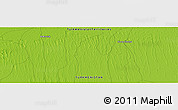 "Physical Panoramic Map of the area around 38° 36' 25"" N, 58° 43' 30"" E"