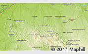 Physical 3D Map of Corchuela