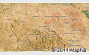 Satellite 3D Map of Almendralejo