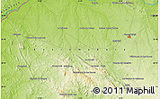 Physical Map of Corchuela