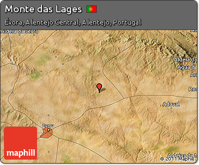 Free Satellite D Map Of Monte Das Lages - Lages map