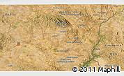 Satellite 3D Map of Monte do Falcato
