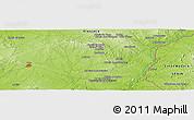 Physical Panoramic Map of Quinta do Espinheiro