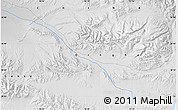 Physical Map of Nagza