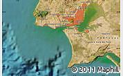 Satellite Map of Amadora