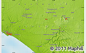 Physical Map of Warrnambool