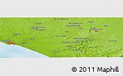 Physical Panoramic Map of Warrnambool