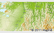 Physical 3D Map of Kawerau