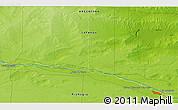 Physical 3D Map of Juan de Garay
