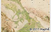 Satellite Map of Shajingzi