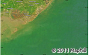 "Satellite Map of the area around 39°3'25""N,119°4'29""E"
