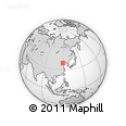 """Outline Map of the Area around 39° 3' 25"""" N, 119° 4' 29"""" E, rectangular outline"""