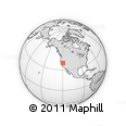 """Outline Map of the Area around 39° 3' 25"""" N, 119° 46' 30"""" W, rectangular outline"""