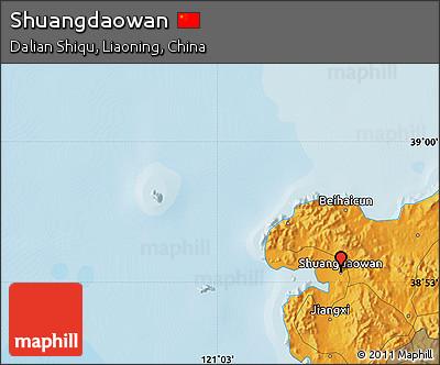 Political Map of Shuangdaowan