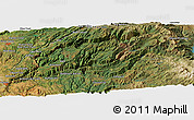 "Satellite Panoramic Map of the area around 39° 3' 25"" N, 120° 37' 30"" W"