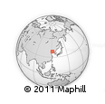 Outline Map of Jiulizhuang, rectangular outline