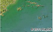 Satellite Map of Dengshahe