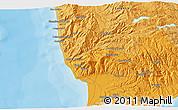 Political 3D Map of Catanzaro