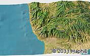 Satellite 3D Map of Catanzaro