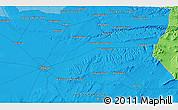 Political 3D Map of La Losilla