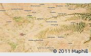 Satellite 3D Map of La Losilla
