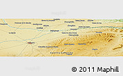 Physical Panoramic Map of Albacete