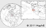 Blank Location Map of Kanallákion