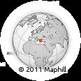 Outline Map of Skiathos, rectangular outline