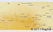 Physical 3D Map of Villarrobledo