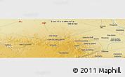 Physical Panoramic Map of Villarrobledo