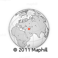 Outline Map of Injar, rectangular outline