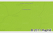 """Physical 3D Map of the area around 39°3'25""""N,59°34'30""""E"""