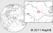 """Blank Location Map of the area around 39°3'25""""N,62°58'30""""E"""