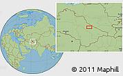 "Savanna Style Location Map of the area around 39°3'25""N,62°58'30""E"