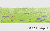"Physical Panoramic Map of the area around 39° 3' 25"" N, 6° 43' 29"" W"