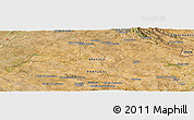 Satellite Panoramic Map of Portalegre