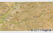 Satellite 3D Map of Santarém
