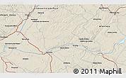 Shaded Relief 3D Map of Santarém