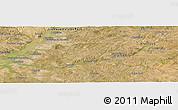 Satellite Panoramic Map of Santarém