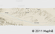Shaded Relief Panoramic Map of Daquan