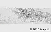 Physical Panoramic Map of Gangou