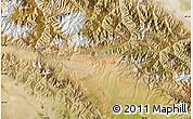 "Satellite Map of the area around 39°3'25""N,98°40'30""E"